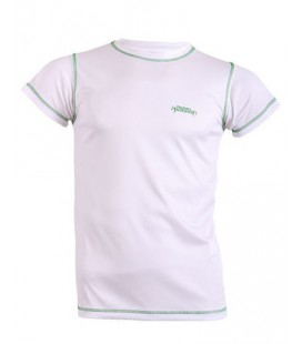 CAMISETA TECNICA PADEL SESSION BLANCO VERDE