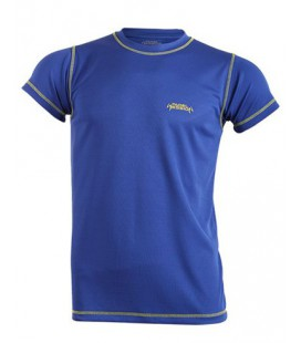 CAMISETA TECNICA PADEL SESSION ROYAL AMARILLA