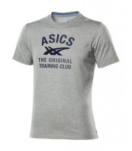 CAMISETA ASICS MEN LOGO TEE HEATHER GREY 109686 0714
