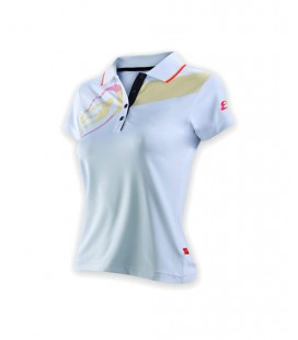 POLO BULLPADEL ASAS BLANCO