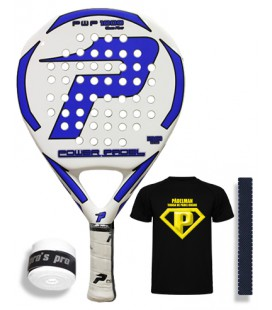 POWER PADEL 1000 GLASS FIBER AZUL