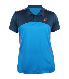 ASICS PLAYER POLO 132401 AZUL