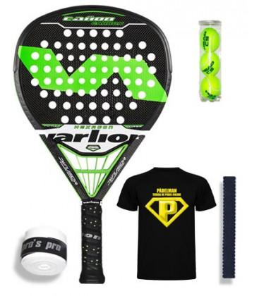 VARLION CAÑON CARBON DIFUSOR HEXAGON VERDE