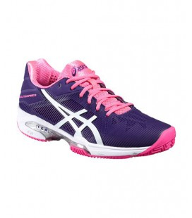 ASICS GEL SOLUTION SPEED 3 CLAY PURPURA ROSA E651N 3301
