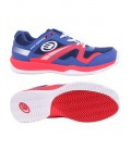BULLPADEL BONSO MAN AZUL Y ROJO