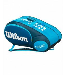 RAQUETERO WILSON MINI TOUR AZUL