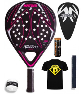 PADEL SESSION MATRIX 3 FUCSIA