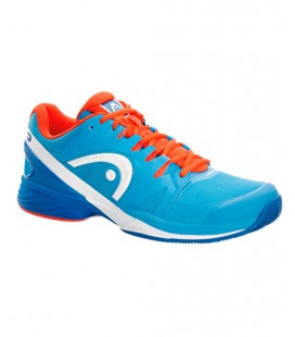 ZAPATILLAS HEAD NITRO PRO BLUE FLAME
