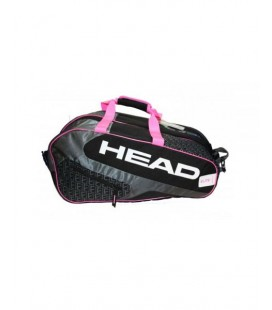 PALETERO HEAD ELITE PADEL SUPERCOMBI MUJER NEGRO ROSA