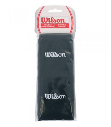 WILSON MUÑEQUERAS NEGRAS X2