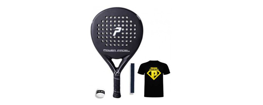 Power Padel Black - Mate y Brillo