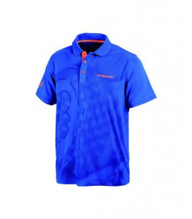 POLO BULLPADEL DOMINGUEZ AZUL