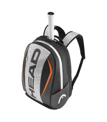 MOCHILA HEAD TOUR TEAM BACKPACK GRIS NEGRO 2016