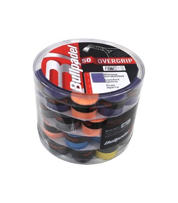 CUBO 50 OVERGRIPS BULLPADEL COLORES