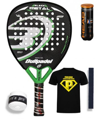 BULLPADEL BLACK METAL