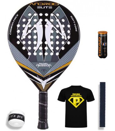 PADEL SESSION ANDROID ELITE CARBON 2015