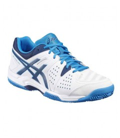 zapatillas asics gel padel pro 3 sg azul blanco black