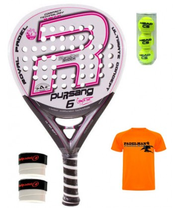 ROYAL PADEL PURSANG 6 WOMAN CELESTE