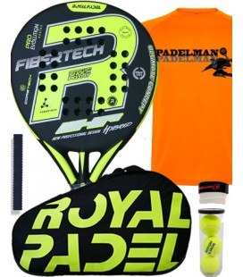 PACK ROYAL PADEL WHIP 790 HYBRID 2018