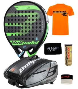 PACK BULLPADEL VERTEX CONTROL 2018