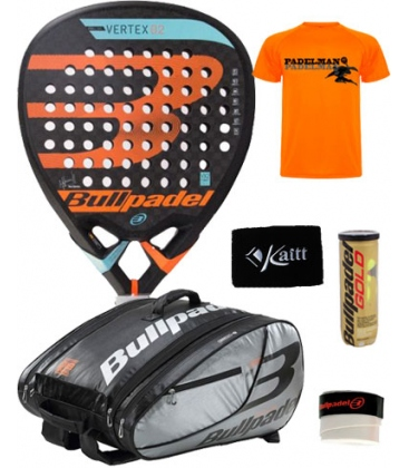 PACK BULLPADEL VERTEX 2 2018