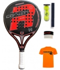 ROYAL PADEL M27 CARBON ROJA 2019