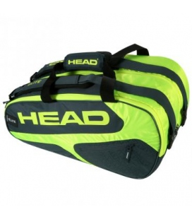 PALETERO HEAD ELITE PADEL SUPERCOMBI VERDE AMARILLO