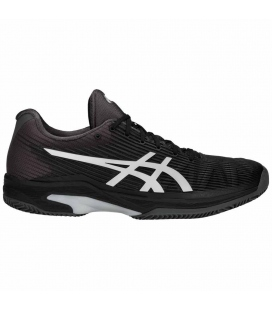 ASICS SOLUTION SPEED FF CLAY BLACK/SILVER