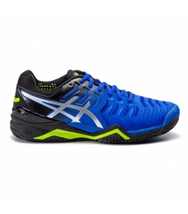 ASICS GEL RESOLUTION 7 CLAY ILLUSION BLUE/SILVER