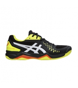 ASICS GEL-CHALLENGER 12 CLAY BLACK/SOUR YUZU
