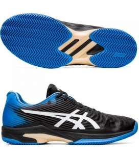 ASICS SOLUTION SPEED FF CLAY BLACK/BLUE COAST