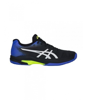ASICS SOLUTION SPEED FF CLAY BLACK/ILLUSION BLUE