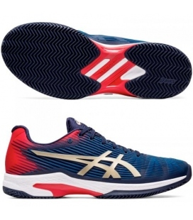 ASICS SOLUTION SPEED FF CLAY PEACOAT/CHAMPAGNE