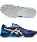 ASICS GEL CHALLENGER 12 CLAY PEACOAT/CHAMPAGNE