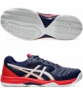ASICS GEL DEDICATE 6 CLAY PEACOAT/WHITE