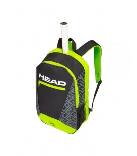 MOCHILA HEAD CORE NEGRO AMARILLO