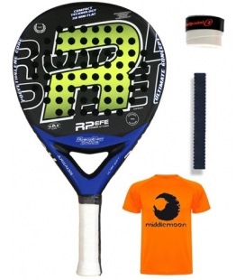 ROYAL PADEL EFE CARBON ATTACK 2020 AMARILLA-AZUL