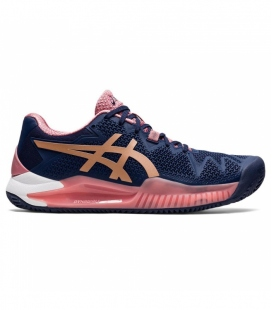 ASICS GEL RESOLUTION 8 CLAY PEACOAT/ROSE GOLD