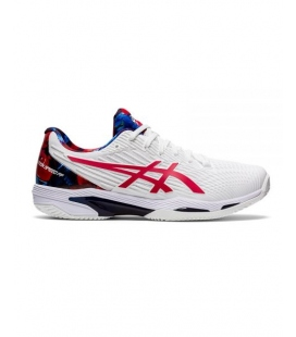 ASICS SOLUTION SPEED FF 2 CLAY L.E. WHITE/CLASSIC RED